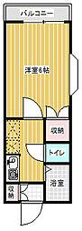 サイレントハイツ[2階]の間取り