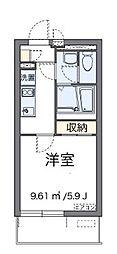 翔花[3階]の間取り