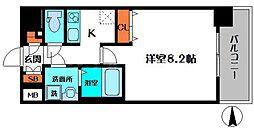 クレアート大阪EASTG4[6階]の間取り