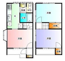 コーポSAKAEI[101号室号室]の間取り