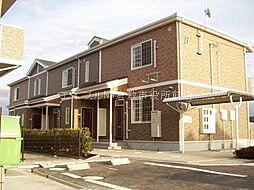 岡山県浅口市金光町占見新田の賃貸アパートの外観
