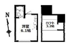 my plan東高円寺[1階]の間取り