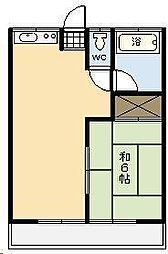 清水アパート[201号室]の間取り