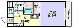 アメニティステーション東山[5階]の間取り