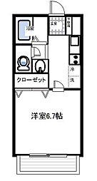 サンハイツ湘南台[1階]の間取り