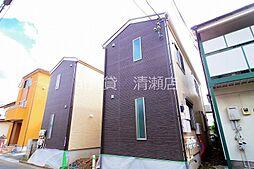 東京都清瀬市梅園3丁目の賃貸アパートの外観