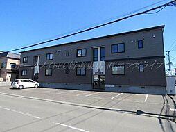 北海道札幌市東区北四十二条東15丁目の賃貸アパートの外観