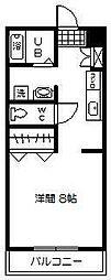 リバーサイド大島3[307号室]の間取り