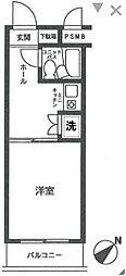 ライオンズマンション矢部第3[2階]の間取り