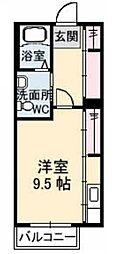 シャーメゾンM[2階]の間取り