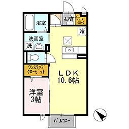 サニスペ[2階]の間取り