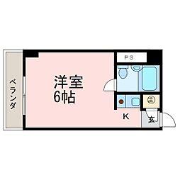 シティライフ鶴舞[5D号室]の間取り