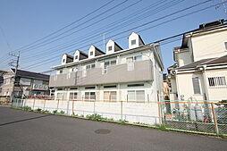 埼玉県春日部市栄町3丁目の賃貸アパートの外観