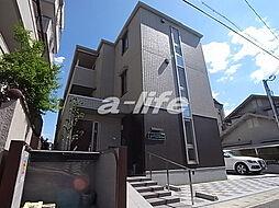 兵庫県神戸市東灘区本山中町1丁目の賃貸アパートの外観
