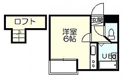 松戸カサベラ六番館[301号室号室]の間取り