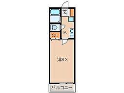 ソル・ヤード福島[1階]の間取り