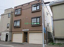 北海道札幌市東区北十八条東12丁目の賃貸アパートの外観