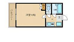 兵庫県尼崎市崇徳院3丁目の賃貸マンションの間取り