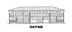 香川県丸亀市土器町西5丁目の賃貸アパートの外観