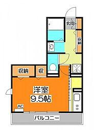 Arc-en-ciel[1階]の間取り