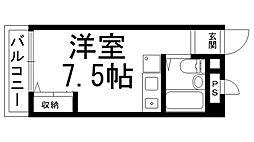 ロータリーM大和田[0411号室]の間取り