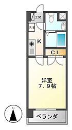 Mステージ栄[3階]の間取り
