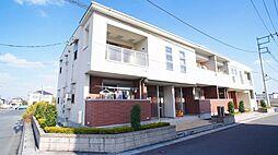 埼玉県鴻巣市北新宿の賃貸アパートの外観