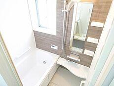リフォーム済写真浴室はユニットバスを新設しました。新しいお風呂で1日の疲れを癒してください。