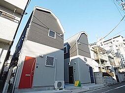 東京都葛飾区小菅2の賃貸アパートの外観
