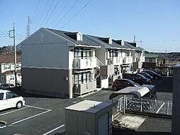 茨城県土浦市木田余東台4丁目の賃貸アパートの外観