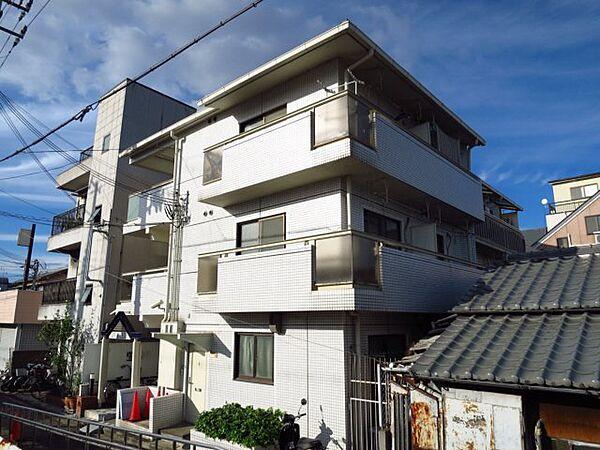 兵庫県西宮市今津久寿川町の賃貸マンションの外観