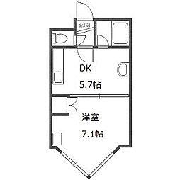 ローヤルハイツ栄通21[402号室]の間取り