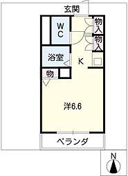 プロクシースクエアー藤見ケ丘[4階]の間取り