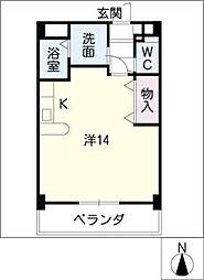 yarakuIII[3階]の間取り
