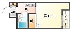 メロディハイム滝井[3階]の間取り