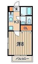 グレイス戸塚[3階]の間取り