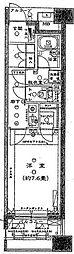 エフローレ日本橋[2階]の間取り