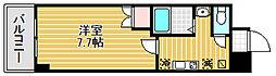 マードレ西宮[6階]の間取り