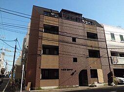 東京都世田谷区奥沢3丁目の賃貸マンションの外観