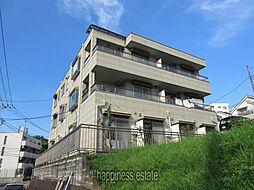 神奈川県川崎市麻生区万福寺2丁目の賃貸マンションの外観