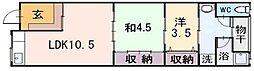 [一戸建] 大阪府東大阪市西上小阪 の賃貸【大阪府 / 東大阪市】の間取り