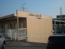 愛知県安城市美園町東菰神の賃貸アパートの外観