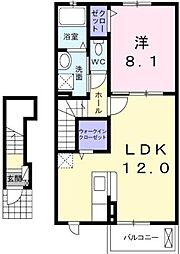 セシリア 202[   2階号室]の間取り