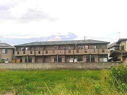 千葉県市川市北方町の賃貸アパートの外観