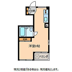 シェトワ桜町[3階]の間取り