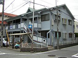 兵庫県西宮市柳本町の賃貸アパートの外観