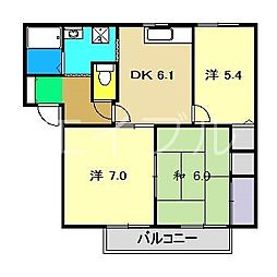Ys21[2階]の間取り