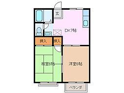 大矢知駅 4.5万円