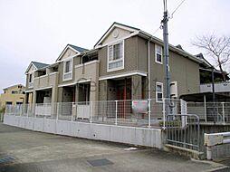 兵庫県川西市西多田1丁目の賃貸アパートの外観