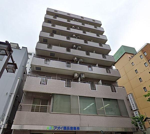 川崎タウンビル[603号室]の外観
